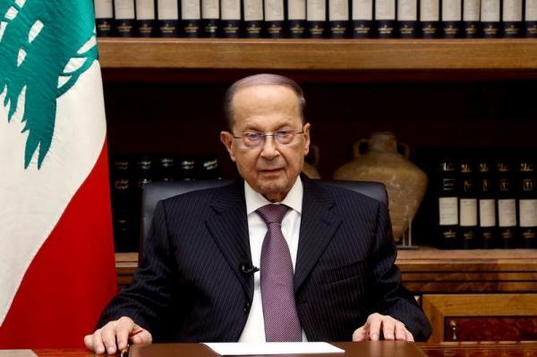 الرئيس اللبناني: سندافع بشراسة عن حقنا في كل نقطة مياه تحمل ثروات نفطنا وغازنا