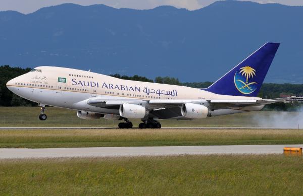 لخطوط الجوية السعودية تبدأ رحلات لإعادة البريطانيين