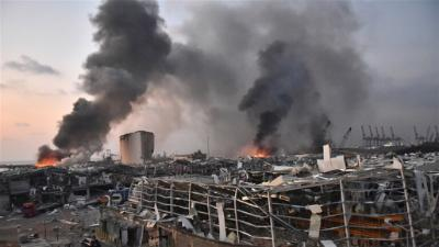 لبنان| 60 شخصًا مازالوا مفقودين في انفجار مرفأ بيروت