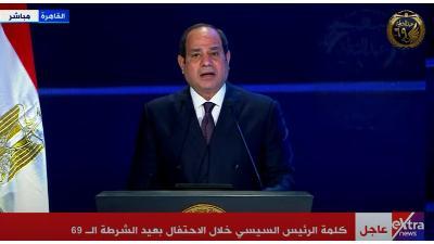 السيسي: مشروع تطوير الريف المصري يستهدف ما بين 50 لـ55 مليون مواطن
